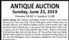 Mazzone's ANTIQUE AUCTION