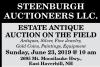 STEENBURGH AUCTIONEERS LLC. ESTATE ANTIQUE