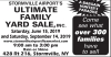 STORMVILLE AIRPORT'S ULTIMATE FAMILY YARD SALE,INC.