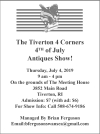 The Tiverton 4 Corners 4th of July Antiques Show