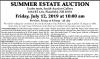 William Smith SUMMER ESTATE AUCTION