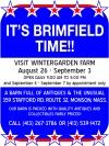 Visit Wintergarden Farm IT'S BRIMFIELD TIME AGAIN!