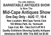 44th Annual MID-CAPE ANTIQUES SHOW