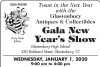 39th Glastonbury Antiques & Collectibles Gala New Year's Show