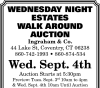 Ingraham & Co. Wednesday Night Estates Walk Around Auction
