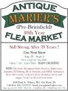 MARIER'S ANTIQUES & FLEA MARKET PRE BRIMFIELD SALE