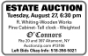 O'Connors ESTATE AUCTION