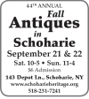 Fall Antiques in Schoharie