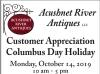 Acushnet River Antiques, LLC Customer Appreciation