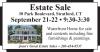 Stratford, CT Estate Sale by Joan's