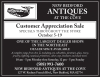 New Bedford Antiques Customer Appreciation Sale