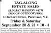 Purchase NY Tag-Along Estate Sales