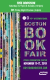 43rd International Boston Book Fair