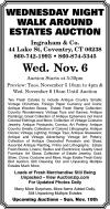 Ingraham & Co. Wednesday Night Walkaround Estates Auction