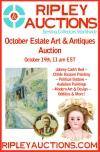 Ripley Auctions ESTATE ART & ANTIQUES