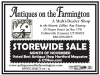 Antiques on the Farmington Storewide Sale
