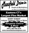 Mansfield Drive-In Flea Market Every Sunday