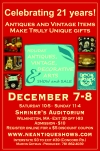 Holiday Antiques, Vintage, Decorative Arts Show & Sale