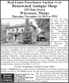 Real Estate Foreclosure Auction 19-230