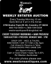 Weston's Weekly Estates Auction