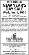 Auction Boss 2020 Annual New Year's Day Sale