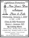 Lighthouse Promotions New Year's Day Antiques Show & Sale