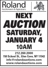 Roland January Estates Sale