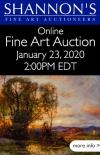Shannon's Online Fine Art Auction
