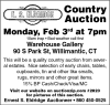 Ernest S. Eldridge Country Auction
