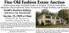 William A. Smith Fine Old Fashion Estate Auction