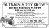 A TRAIN & TOY SHOW