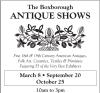 Boxborough ANTIQUE SHOWS