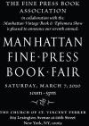 7th Manhattan Fine Press Book Fair