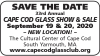 Canceled 33rd Annual CAPE COD GLASS SHOW & SALE