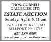 Thos Cornell Estate Auction