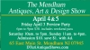 CANCELLED The Mendham Antiques, Art & Design Show