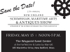 POSTPONED 11th annual New England Scrimshaw, Maritime Arts & Antiques Show