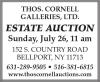 Thos. Cornell Galleries Estate Auction