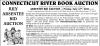 CONNECTICUT RIVER BOOK Absentee bid auction