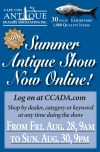 50th ANNUAL Summer CCADA Antique Show Now Online!