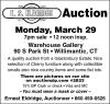 E.S. Eldridge Auction