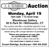 E.S. Eldridge Auction