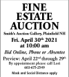 William Smith Fine Estate Auction