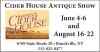 Cider House Antique Show