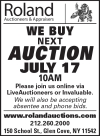 Roland Next Auction