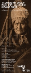 Santa Fe Art Auction's The Christopher Cardozo (1948 – 2021) Collection Of Edward S. Curtis
