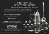 Heritage Auctions Fine Silver & Objects of Vertu