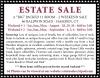 """HAMDEN, CT """"BIG"""" PACKED 11 ROOM Estate Sale"""