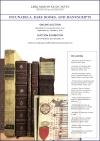 Lark Mason Online Auction Incunabula, Rare Books, And Manuscripts