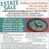 Estate Sale Golden Lamb Buttery